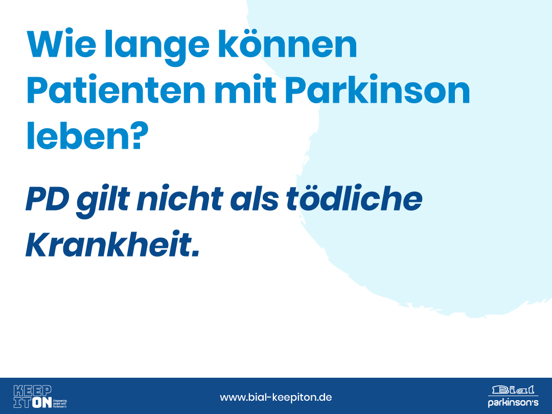 Wie lange können Patienten mit Parkinson leben? - Bial